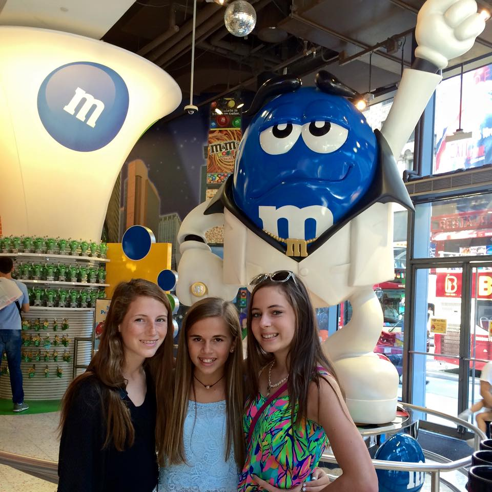 M&Ms in New York